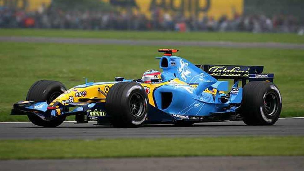 Los coches de competición de Fernando Alonso
