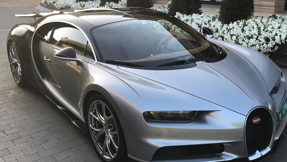 Cristiano Ronaldo estrena su nuevo Bugatti Chiron