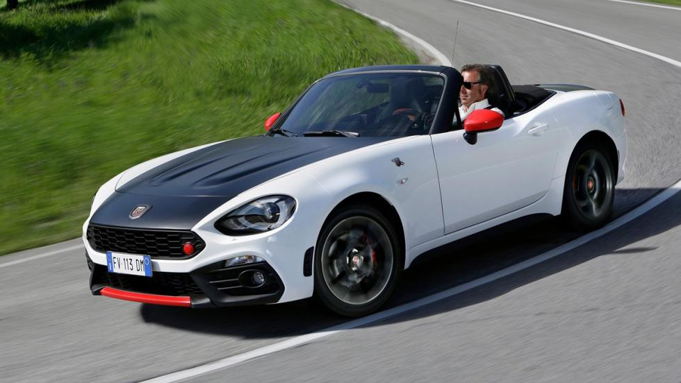 Los deportivos más vendidos en agosto en España - Abarth 124 Spider - 3 unidades