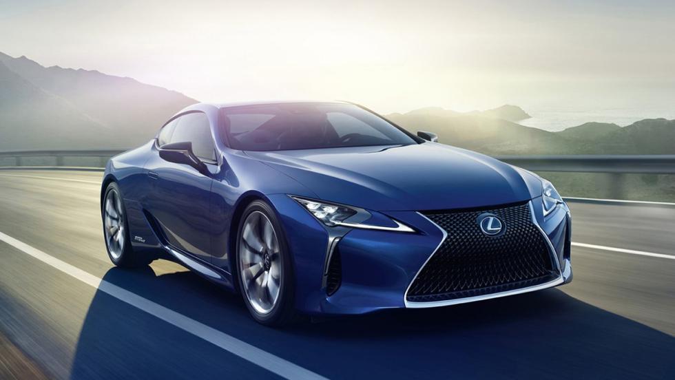 Los deportivos más vendidos en agosto en España - Lexus LC - 6 unidades
