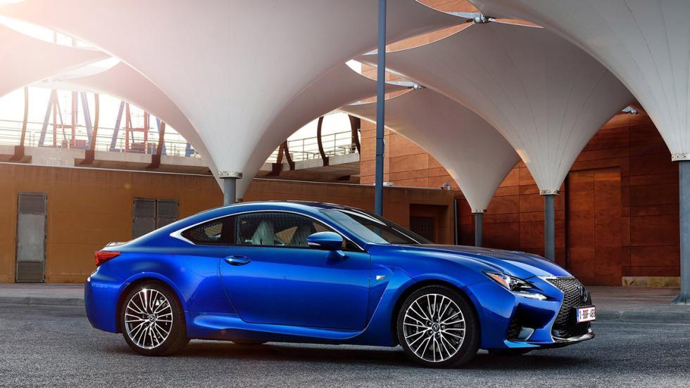 Los deportivos más vendidos en agosto en España - Lexus RC - 18 unidades