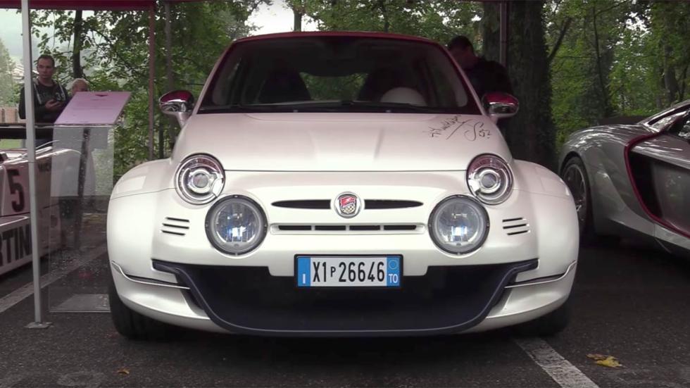 Fiat 500 Giannini 350gt aniversario deportivo compacto utilitario