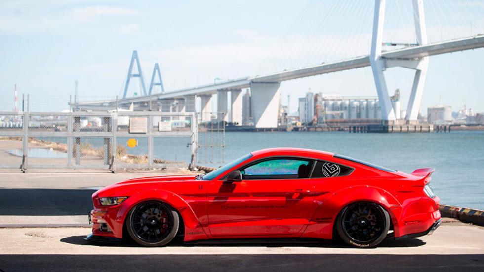 El Ford Mustang de Liberty Walk
