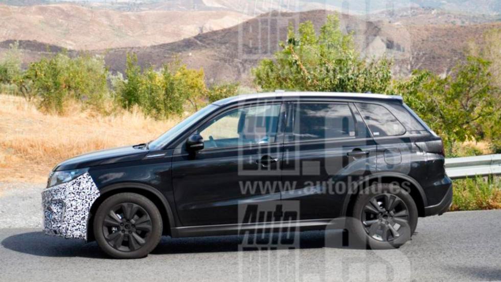 Fotos espía Suzuki Vitara 2018 (III)
