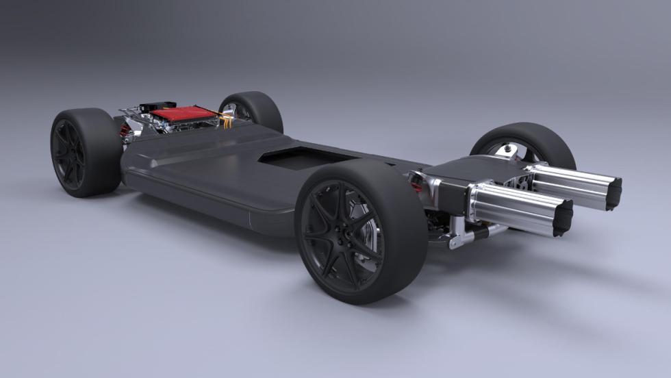 FW-EVX, el nuevo artilugio eléctrico de Williams