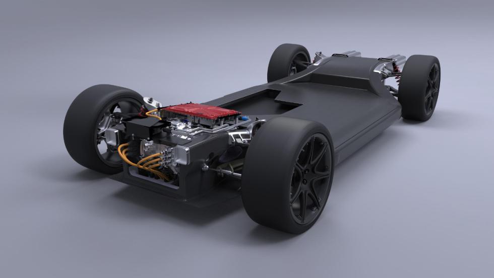 El FW-EVX, una plataforma de coche ligero eléctrico de Williams