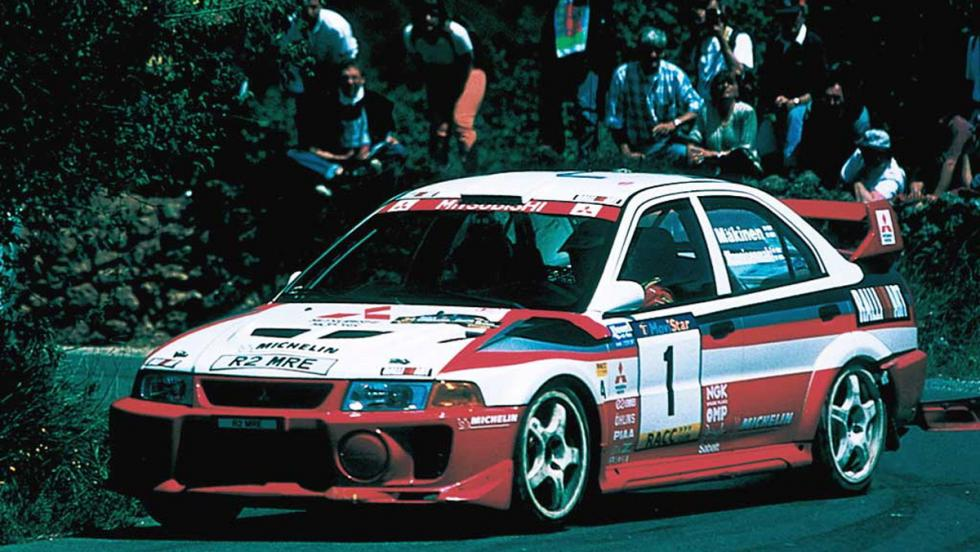 Grupo A: Mitsubishi Lancer Evo (I)