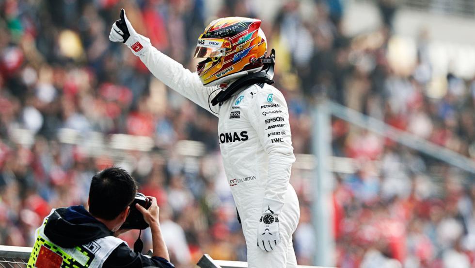 Hamilton, el piloto con más poles de la F1