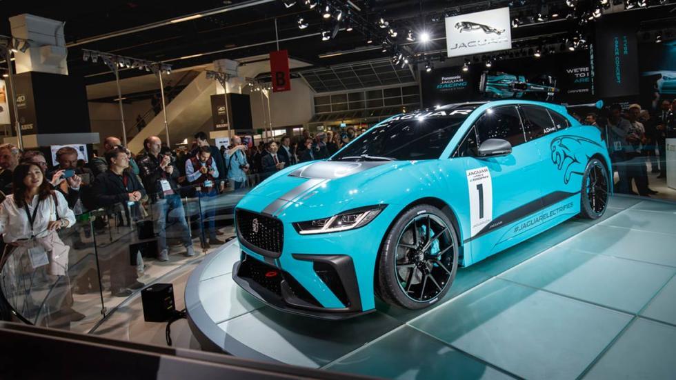 Jaguar I-PACE eTrophy carreras formula e