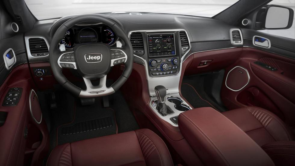 Jeep Grand Cherokee Trackhawk lujo cuero interior