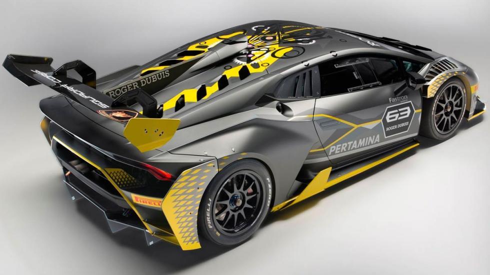 Lamborghini Huracán Super Trofeo Evo deportivo carreras