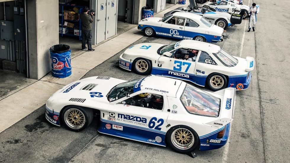 Mazda rotativos