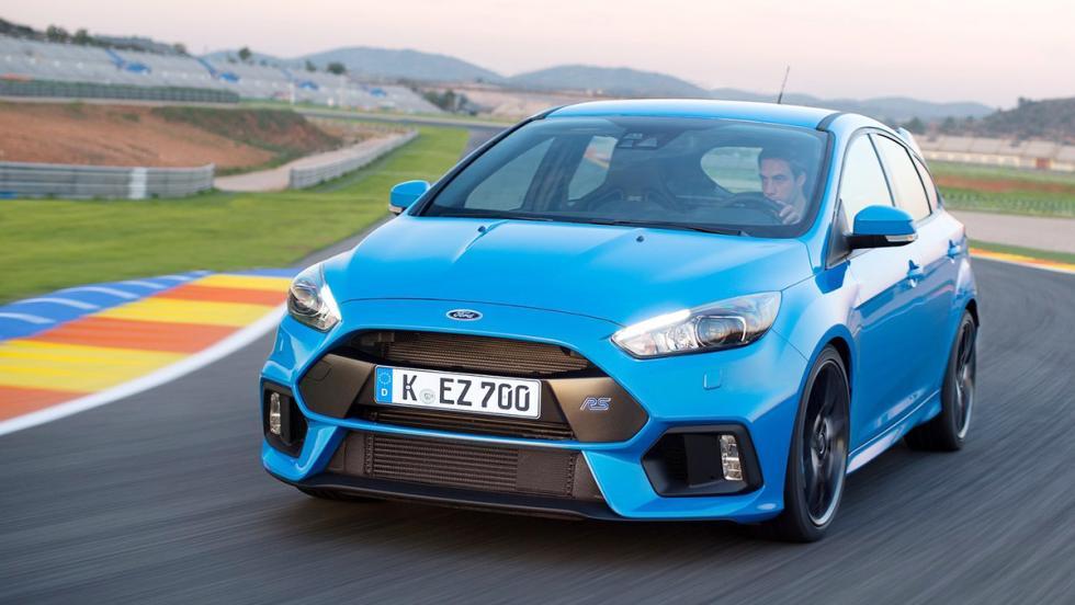 Los mejores asientos deportivos del mercado - Ford Focus RS