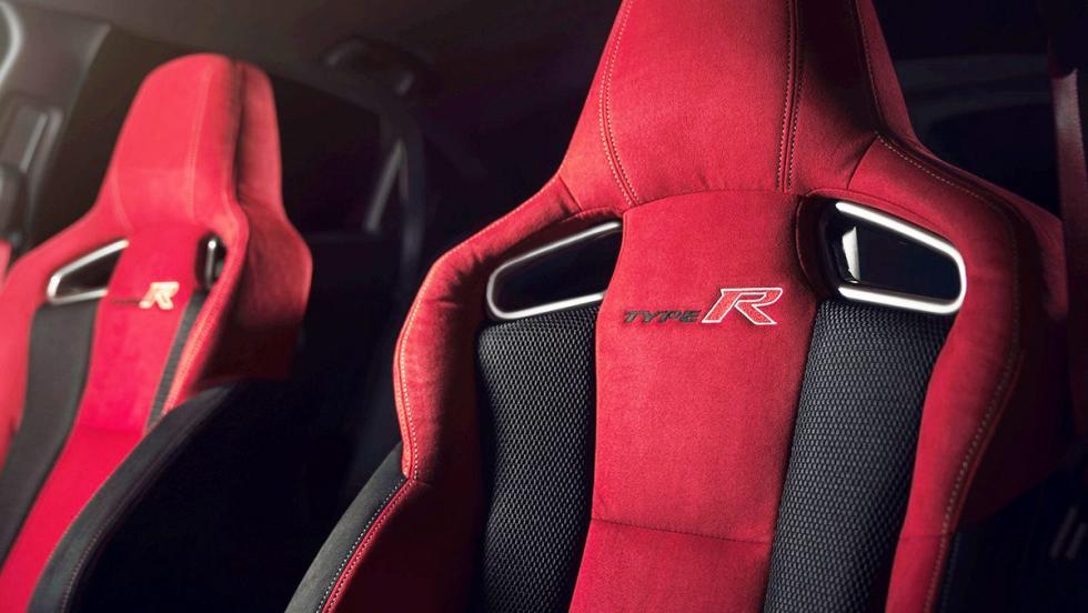 Los mejores asientos deportivos del mercado - Honda Civic Type R