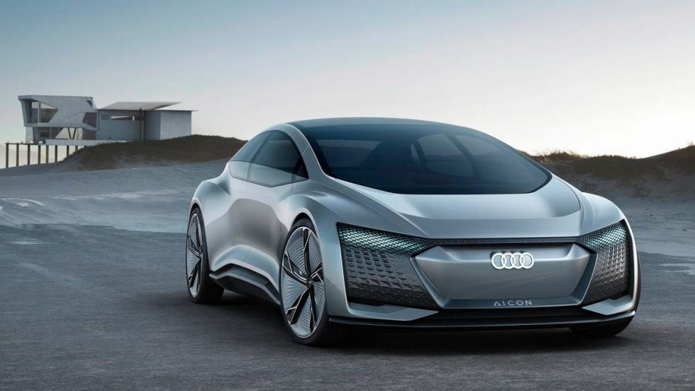 Audi Aicon frontal coche autónomo