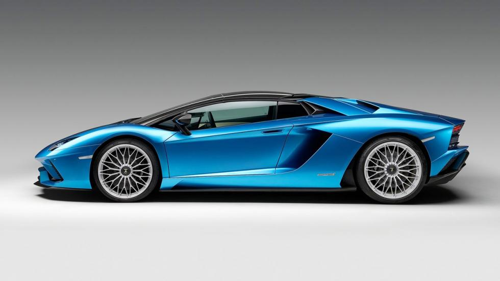 Los mejores deportivos del Salón de Frankfurt 2017 - Lamborghini Aventador S Roadster