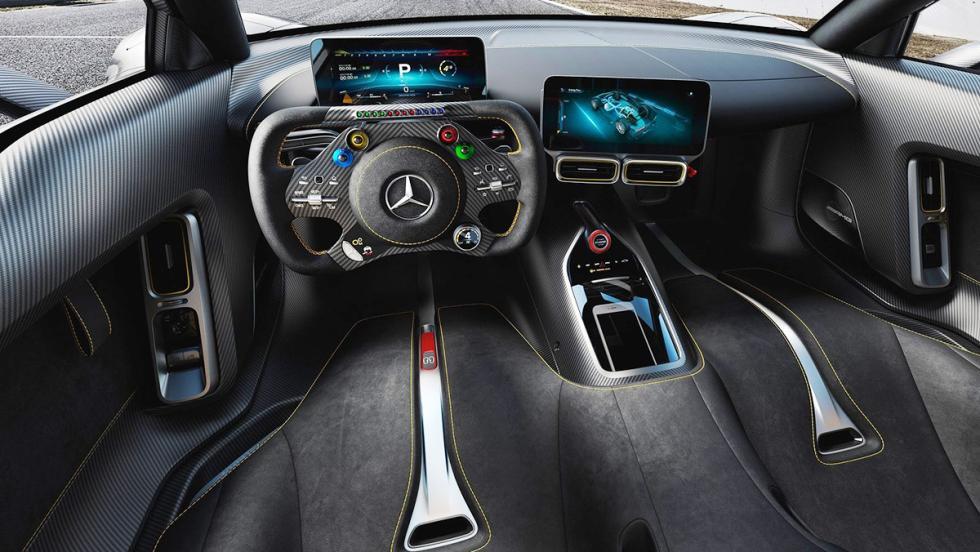 Los mejores deportivos del Salón de Frankfurt 2017 - Mercedes-AMG Project One