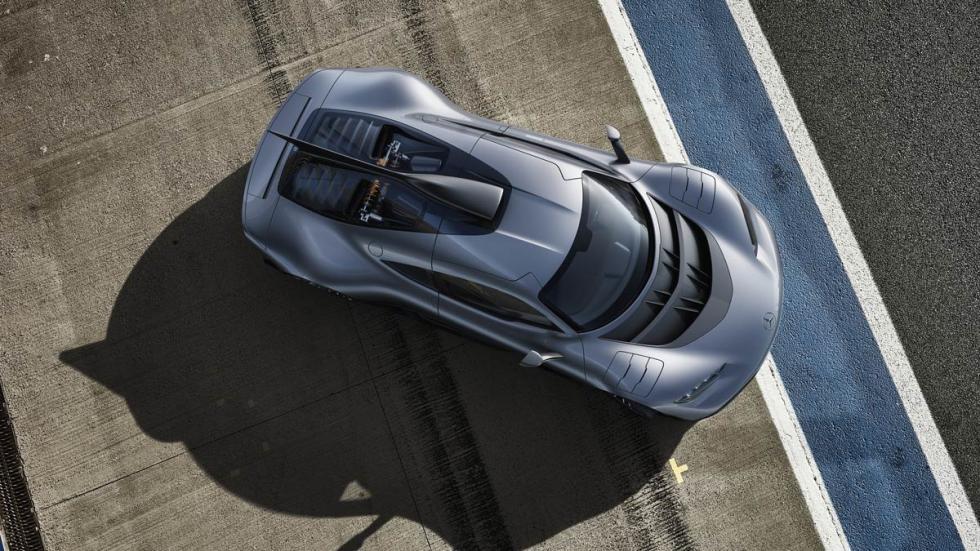 Mercedes AMG Project One hypercar Formula 1 deportivo hibrido