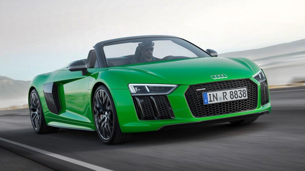 Las novedades de Audi para el Salón de Frankfurt 2017 - Audi R8 Spyder V10 plus