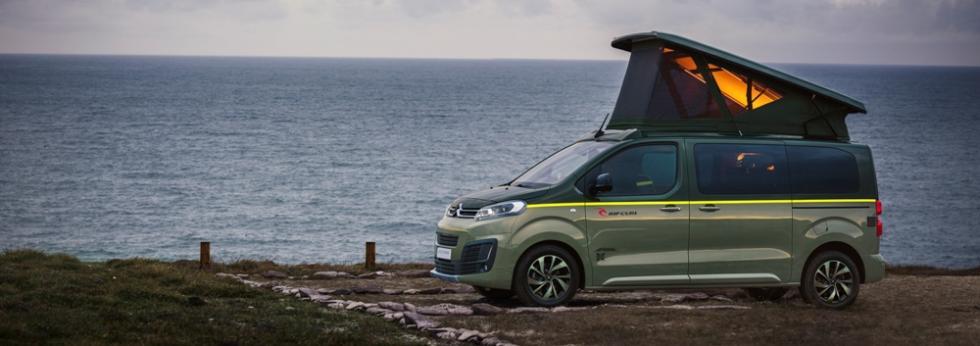 Novedades de Citroën en Frankfurt 2017: nuevo Citroën Spacetourer Rip Curl Concept