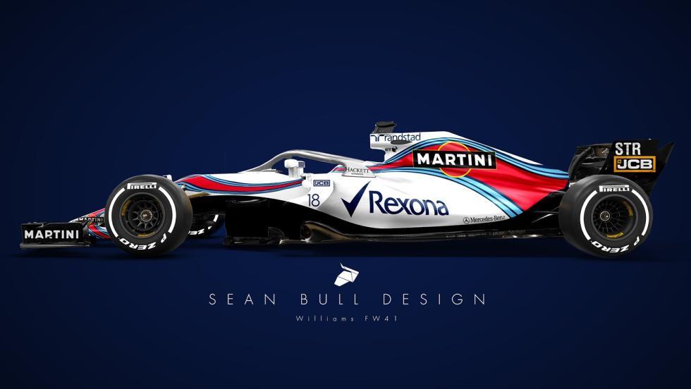 El otro diseño del Williams 2018 de Sean Bull