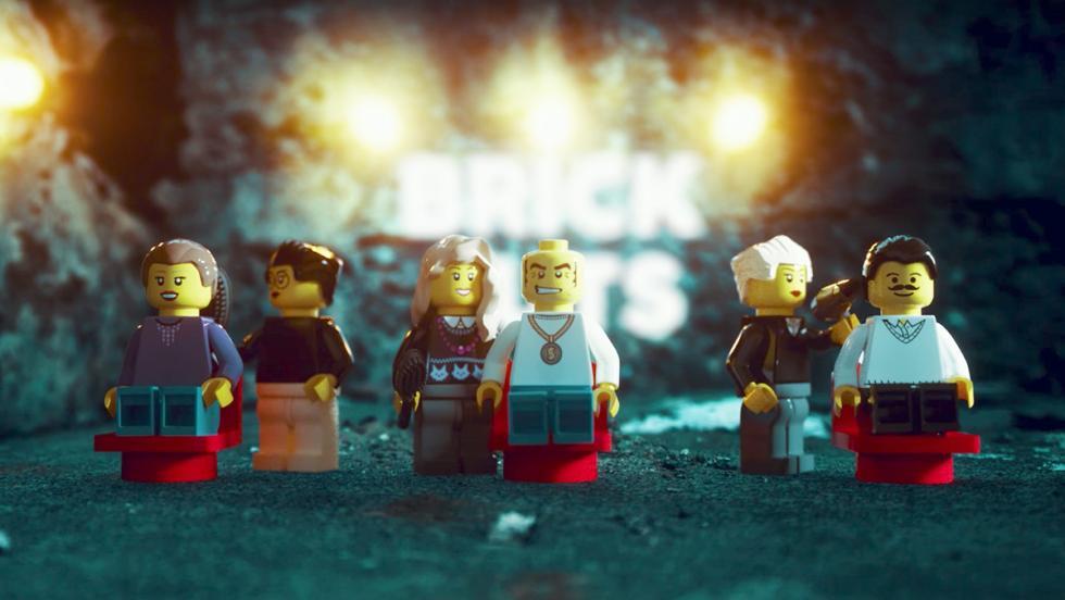 Una partida de GTA con muñecos de Lego