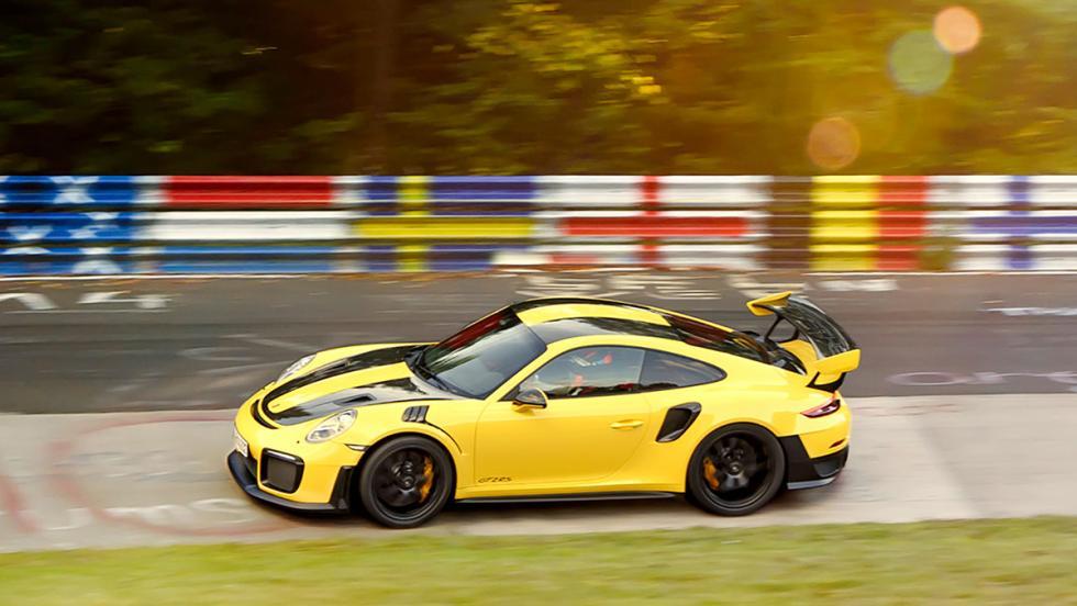 El Porsche 911 GT2 RS revienta el récord de Nürburgring