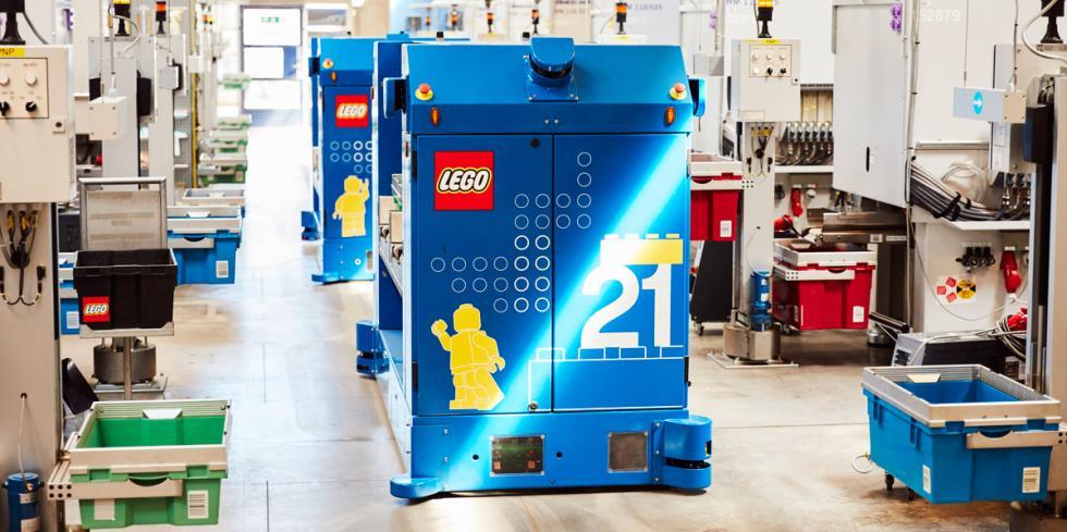 Robots fábrica de Lego