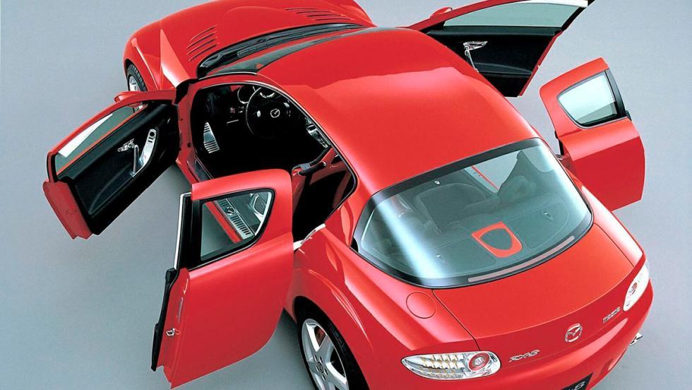 Puertas de coche: Mazda RX-8 (I)
