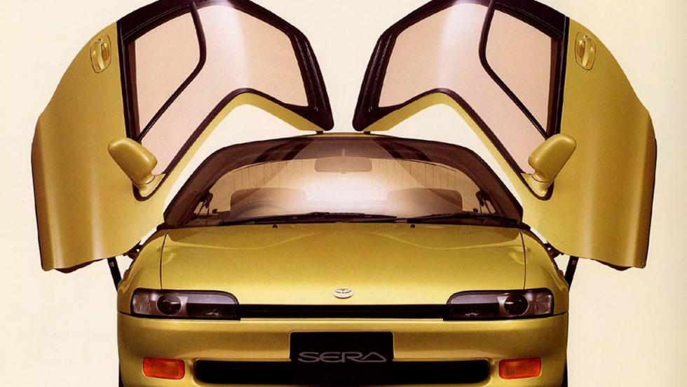 Puertas de coche: Toyota Sera (I)