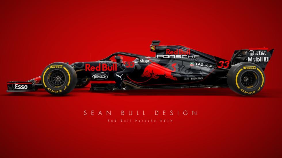 El Red Bull 2018 del amigo Sean