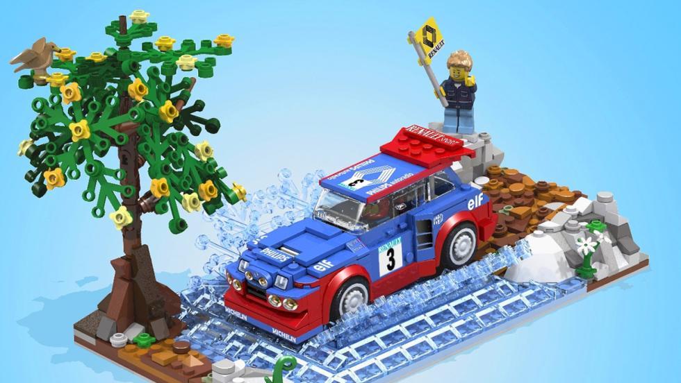 El Renault 5 Maxi Turbo de Lego