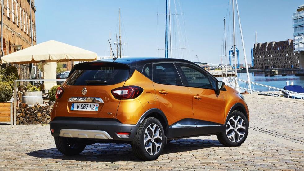 Los rivales del Dacia Duster 2018 - Renault Captur