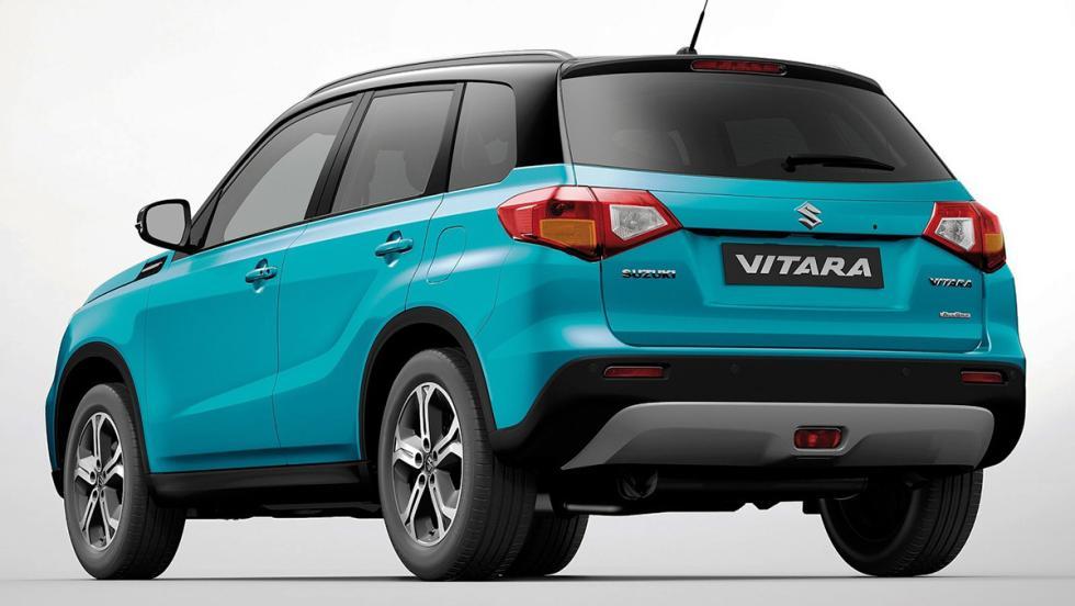Los rivales del Dacia Duster 2018 - Suzuki Vitara