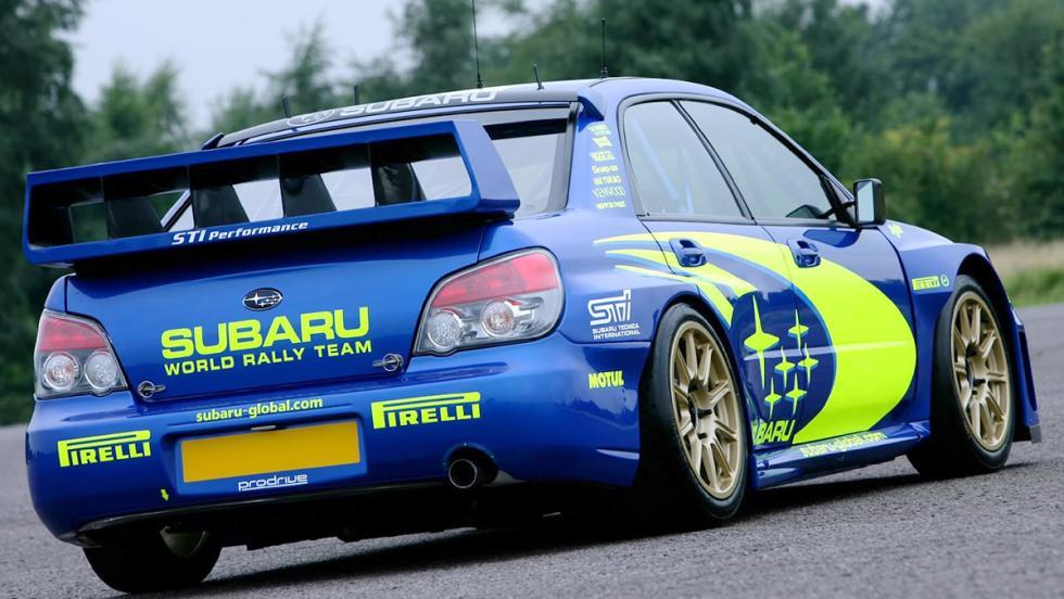 El Subaru Impreza en competición