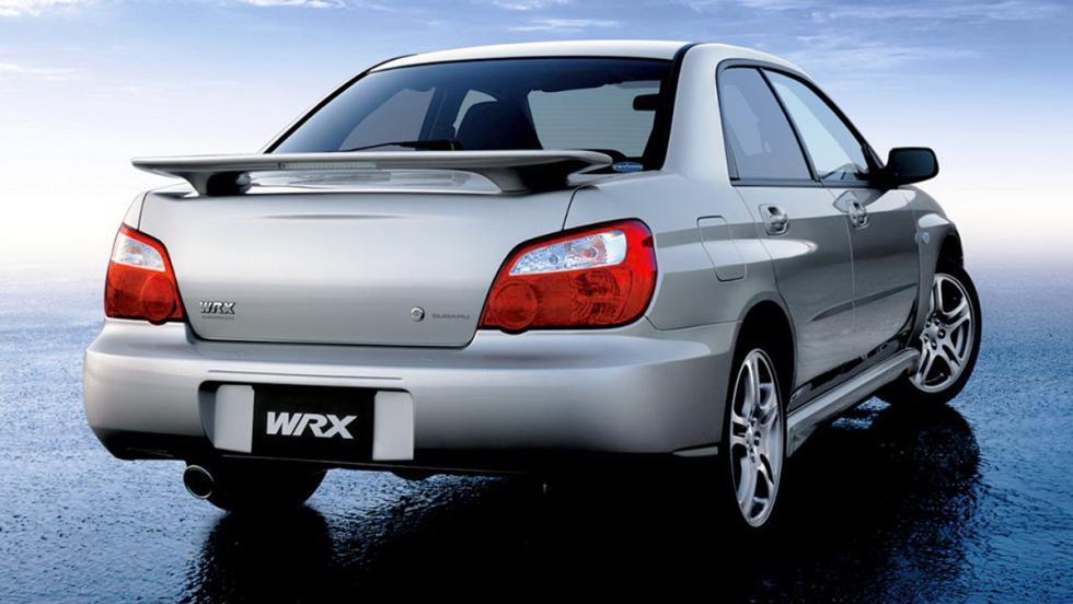 Subaru Impreza  WRX - Segunda generación (restyling) - 2002