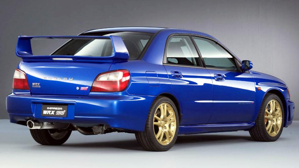 Subaru Impreza  WRX STI - Segunda generación - 2000
