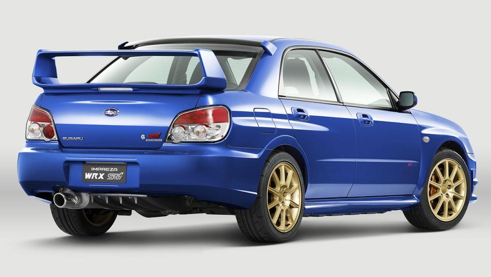 Subaru Impreza  WRX STI - Segunda generación (restyling) - 2006