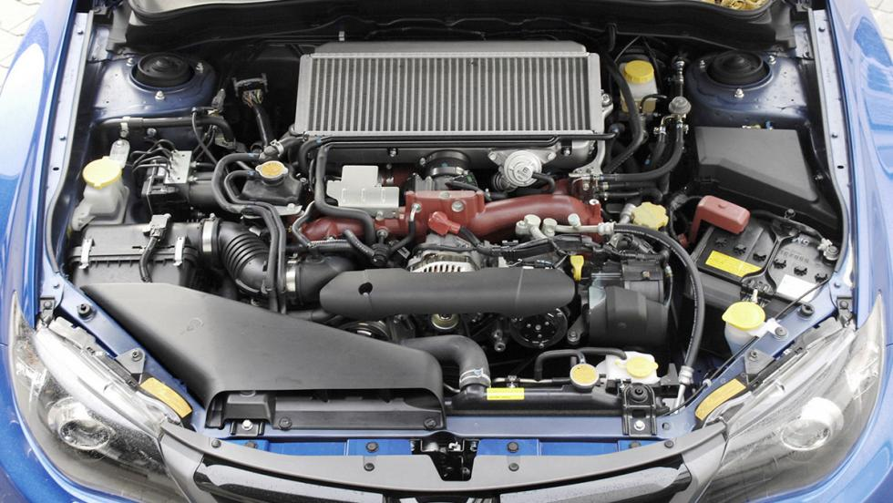 Subaru Impreza WRX STI - Tercera generación - 2010
