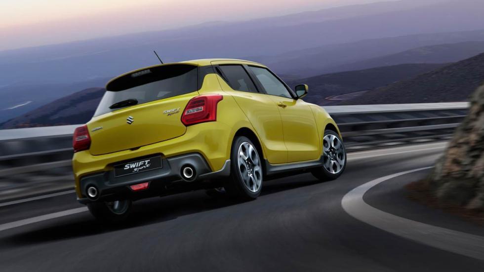 Suzuki Swift Sport 2018 deportivo compacto utilitario
