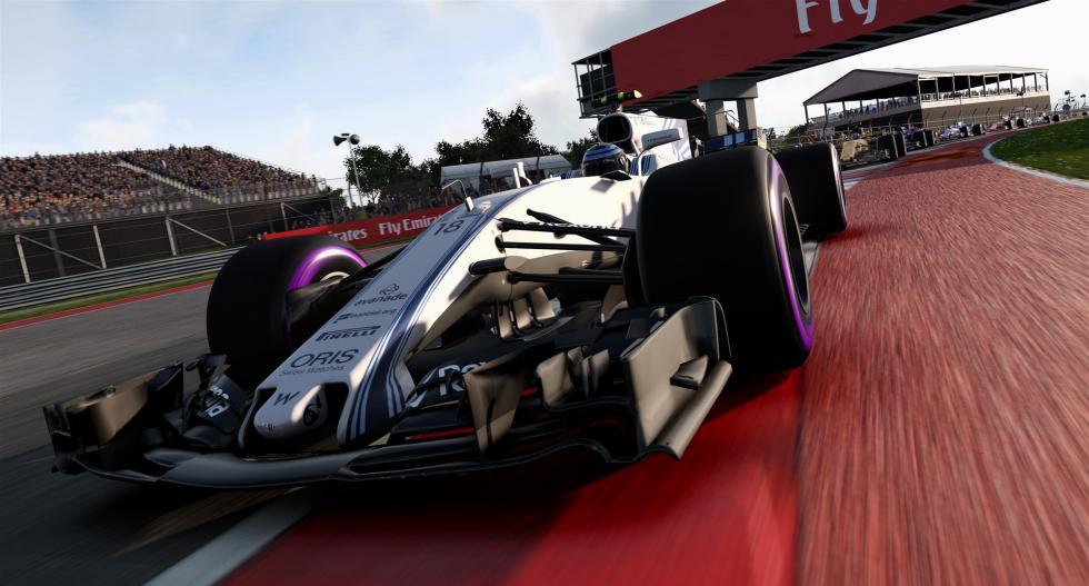 Videojuego F1 2017 - coches clásicos y más