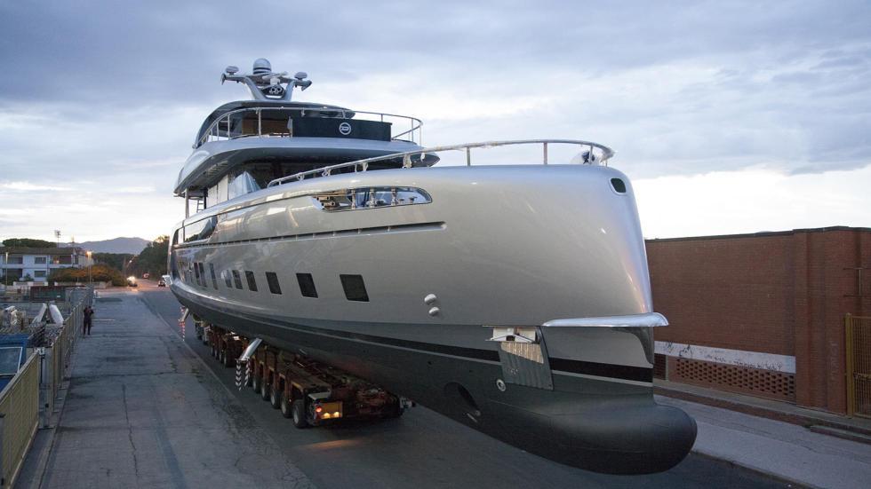 Yate de Porsche lujo barco mar