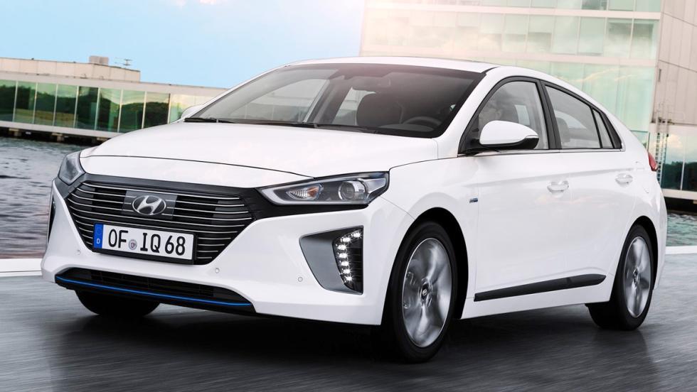5 coches que son mejores en versión híbrida - Hyundai Ioniq