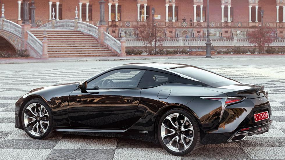 5 coches que son mejores en versión híbrida - Lexus LC 500h
