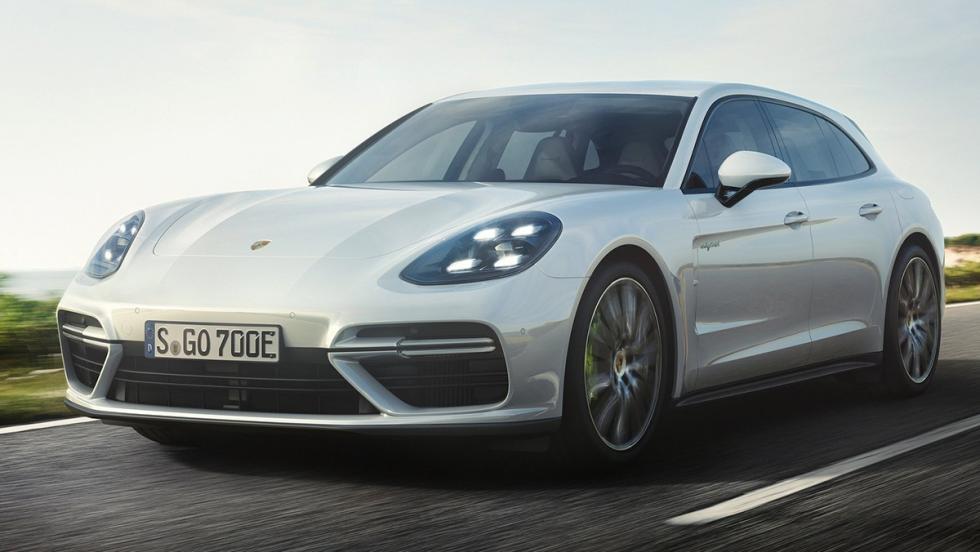 5 coches que son mejores en versión híbrida - Porsche Panamera Sport Turismo Turbo S E-Hybrid