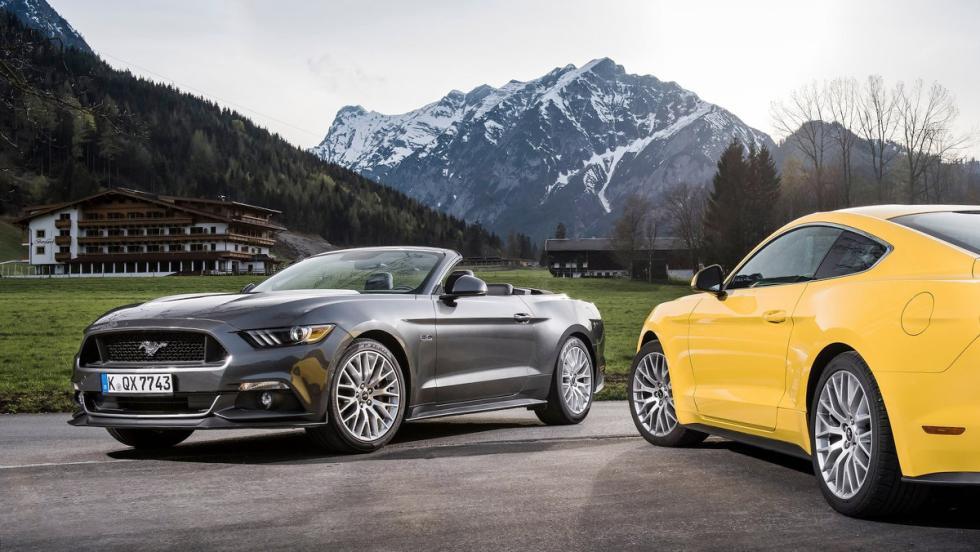 5 coches para ser el rey de tu barrio - Ford Mustang GT Convertible