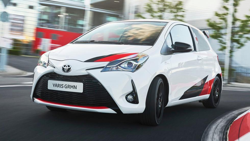 5 coches para ser el rey de tu barrio - Toyota Yaris GRMN