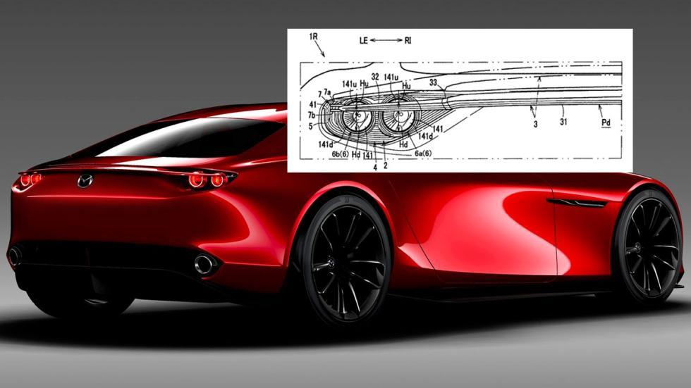 Alerón Mazda RX Vision Concept deportivo alta gama rotativo