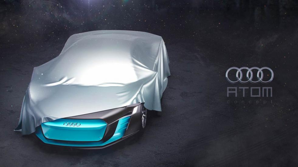 Audi ATOM Concept deportivo eléctrico superdeportivo