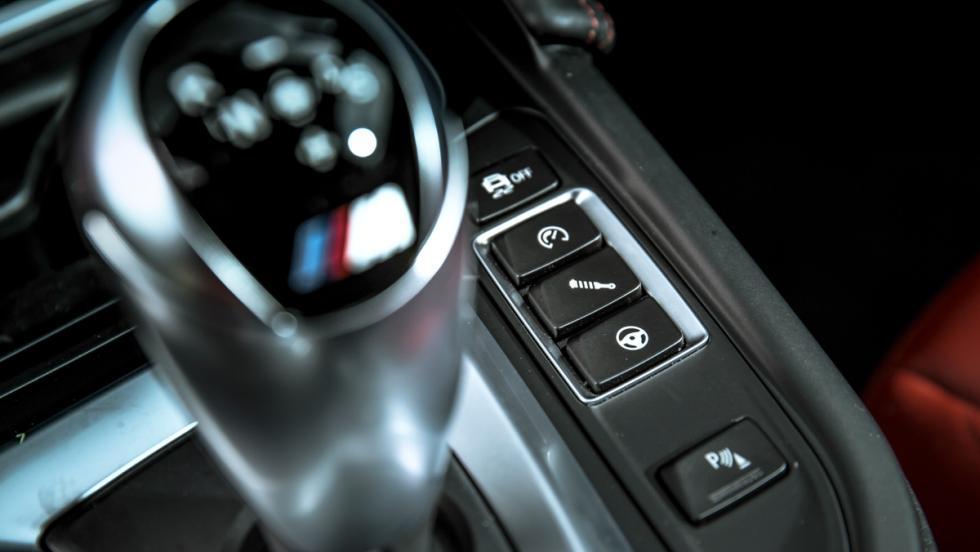 BMW M4 M Competition (botones)